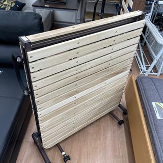 【ニトリ】すのこ折り畳みベッド 幅91cm 🚚自社配送時💳…