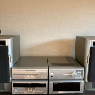 KENWOOD 6CD/6MDコンポ NEW ALLORA XT...
