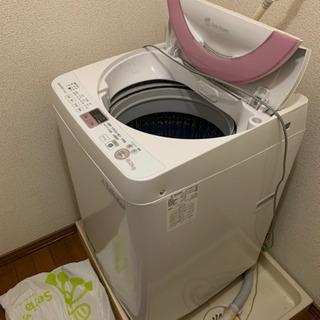 全自動電気洗濯機【2014年製】シャープ - 羽島市