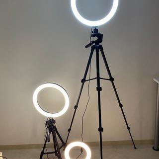 照明器具 リングライトYouTubeセット
