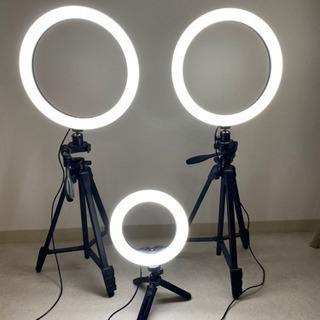 照明器具 リングライトYouTubeセット - 守山市