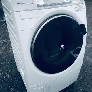 ♦️EJ434B Panasonic ドラム式電気洗濯乾燥機 【...