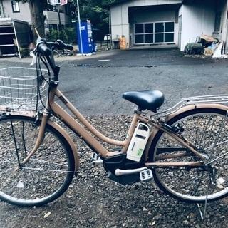 ♦️EJ414B  電動自転車