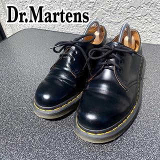 【ネット決済・配送可】【Dr.Martens】3ホール ブラック
