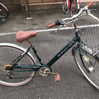 自転車 シティーサイクル 27インチ