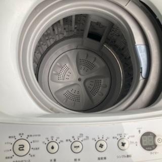 洗濯機 4.5K 2017年製