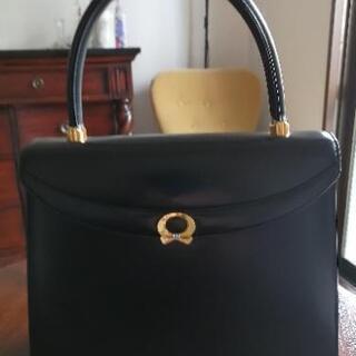極美品 WAKO  和光 ハンドバッグ 黒