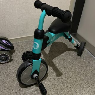 XJD 三輪車 室内 屋外 2歳~4歳 コンパクト 折り畳み
