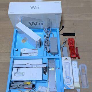 【引き渡し限定】Wiiセット+ソフト6本+バランスWiiボード