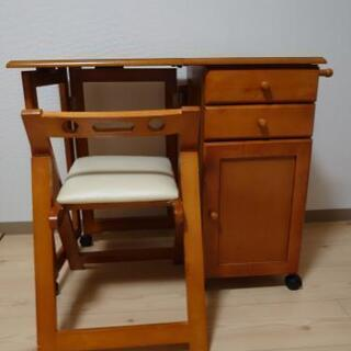 【ネット決済】折り畳み 机&椅子