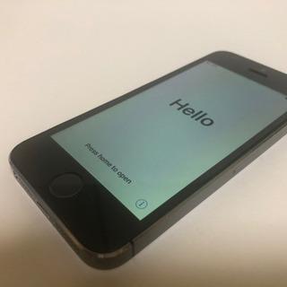 中古iPhone5s 32G au 黒