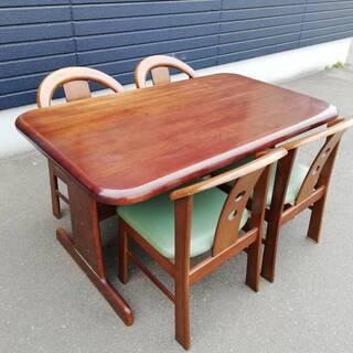 【041901】ダイニングテーブルセット テーブル:幅13…