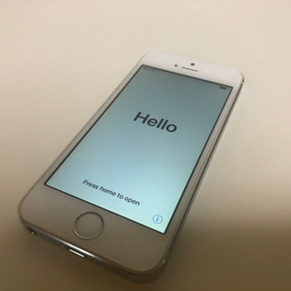中古iPhone5s 32G ソフトバンク 白