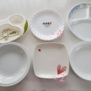 お皿各種差し上げます