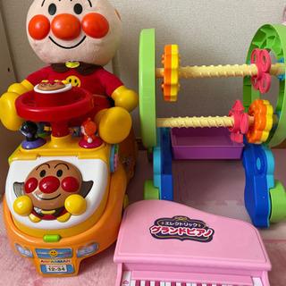おしゃべりアンパンマン 歩行器 ビジーカー  ピアノ