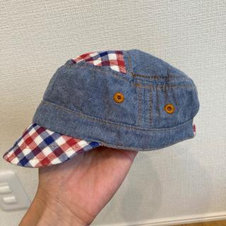 男の子 帽子 44㎝