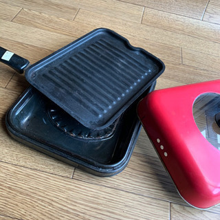 ロースターグリル 魚焼、焼肉、焼き野菜用 - 生活雑貨