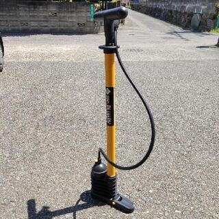 自転車 自動車 空気入れ BAL 高圧タンク式 プラスチッ…