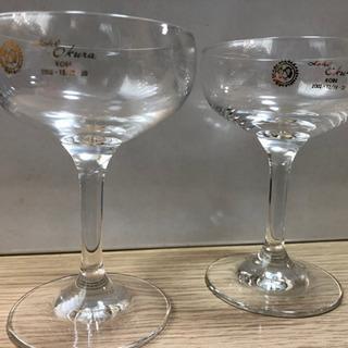 たかじんペアーワイングラス2箱 未使用