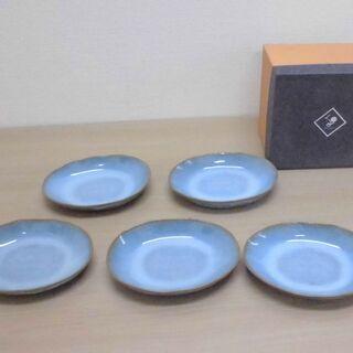 JM10767)NIPPON CRAFT 均窯メロン皿5枚…