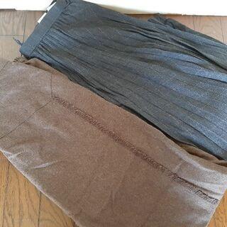 ロングスカート w62 11号 2点セット
