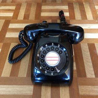 懐かしい昭和の家庭電話機 (昭和40年モデル)