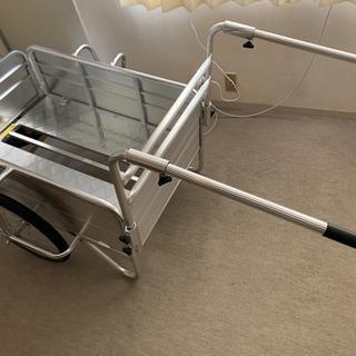 折畳式リヤカー(ほぼ新品)