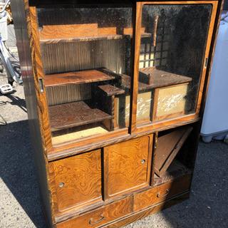 昭和 大正 古い家具 汚れや破損あり 🌈 しげん屋