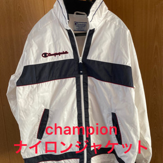 【ネット決済・配送可】★champion チャンピオン★ ナイロ...