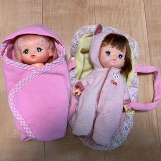 メルちゃん?ポポちゃん?お人形2体
