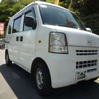 (ID3180)軽バン専門店在庫50台 24万円 マツダ スクラ...