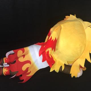 【決まりました】鬼滅の刃 メガジャンボ寝そべりぬいぐるみ 煉獄杏寿郎 - 東村山郡