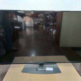 値下げ。引き取り限定!美品!シャープ55型 4K液晶テレビ