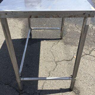 北沢産業 ステンレス作業台 業務用 H80 W97.5 D55 厨房 調理台 飲食店 - 家具