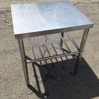 ステンレス作業台 業務用 H67cm W53cm D60.5cm 厨房 調理台 飲食店 - 家具