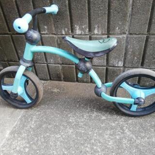 三輪車 smart rike 水色