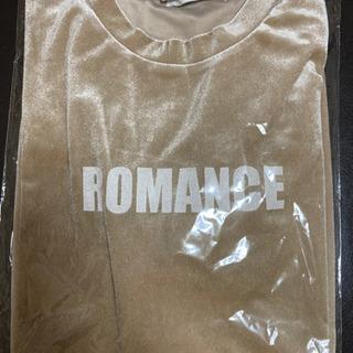 WEGO ベロアロゴTシャツ ベージュ - 売ります・あげます