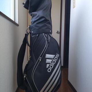 アディダス adidas ゴルフバッグ クラブ付き