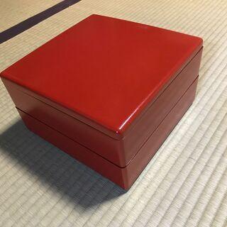 重箱(プラスチック製)2個