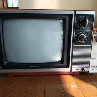 SHARP ブラウン管テレビ コインタイマー付き