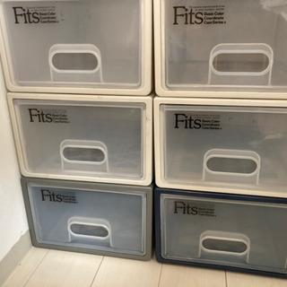 Fitsケース フィッツケース 収納 6個