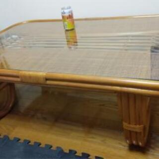 【ネット決済】籐製テーブル