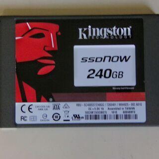 SSD 240GB Kingston 製SC400S37/…