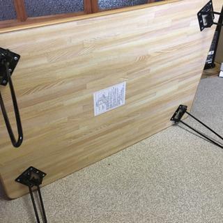 【美品】折りたたみ座卓 - 家具