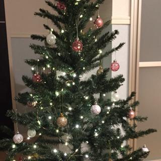 クリスマスツリー+オーナメント+ライト