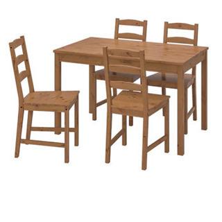 I IKEA ダイニングテーブルセット4人用