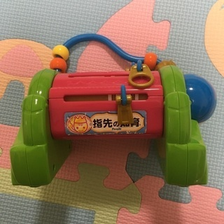 赤ちゃん指先の知育おもちゃ