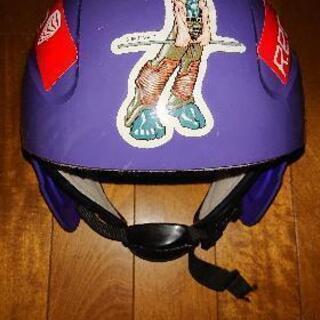 ジュニアスキー&スノーボード用ヘルメット