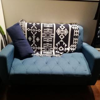 2人掛けソファー の画像