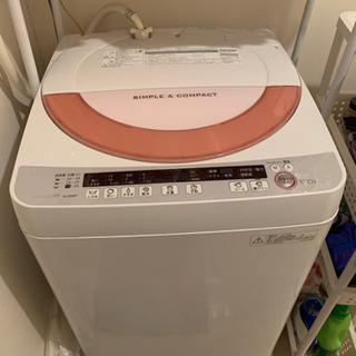 【ネット決済】【ネット決済NG】シャープの洗濯機(2015年製)